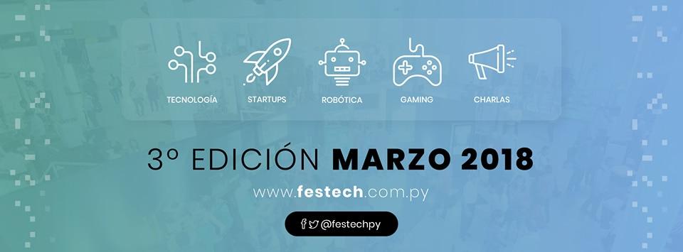 Festechpy 2018 Paraguay
