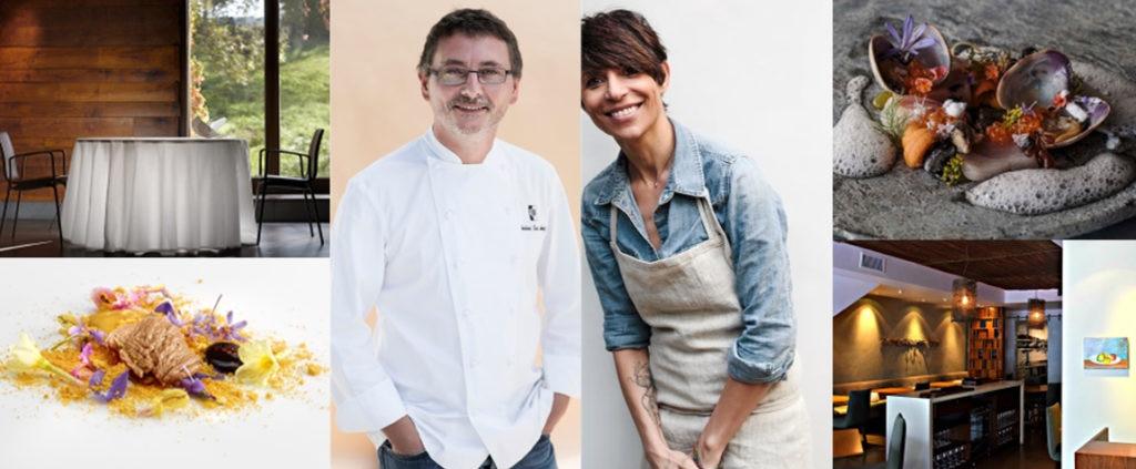 Antoni Luis Aduriz de Mugaritz y Dominique Crenn de Atelier recibirán al ganador de la Beca 50 Best BBVA 2018