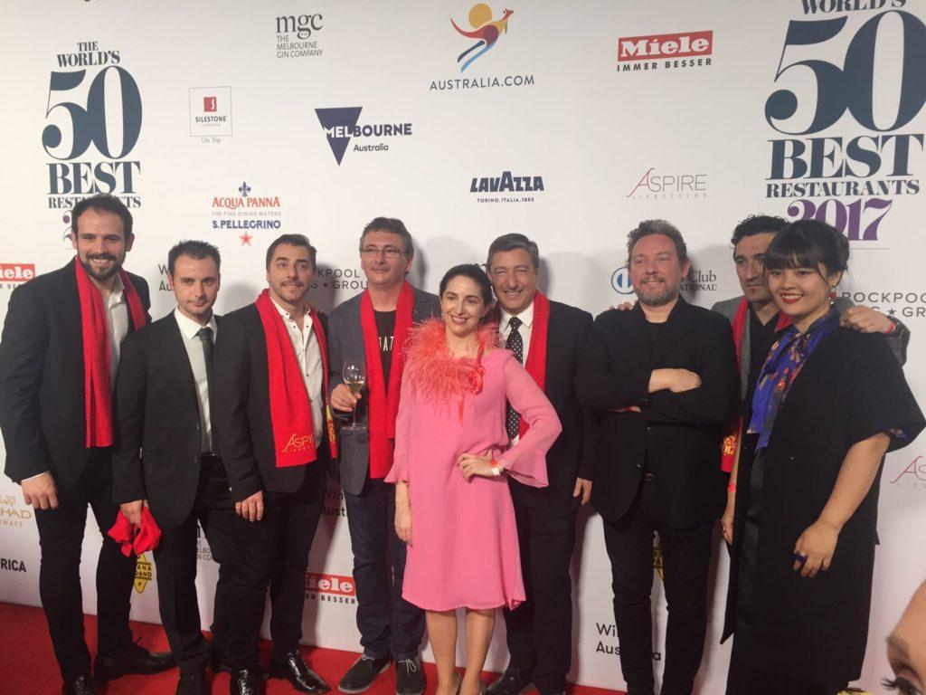 Elena Arzak en el 50 best mujeres cocineras BBVA