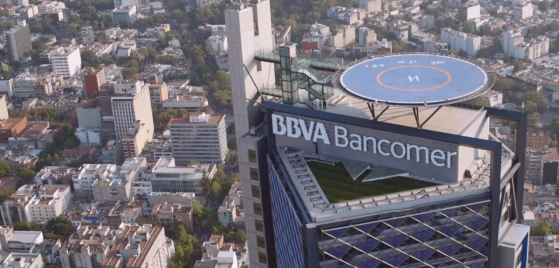 Torre BBVA Bancomer en la Ciudad de México