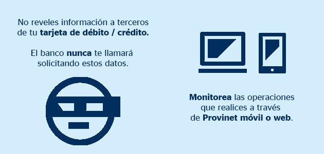 Consejos de seguridad BBVA Provincial