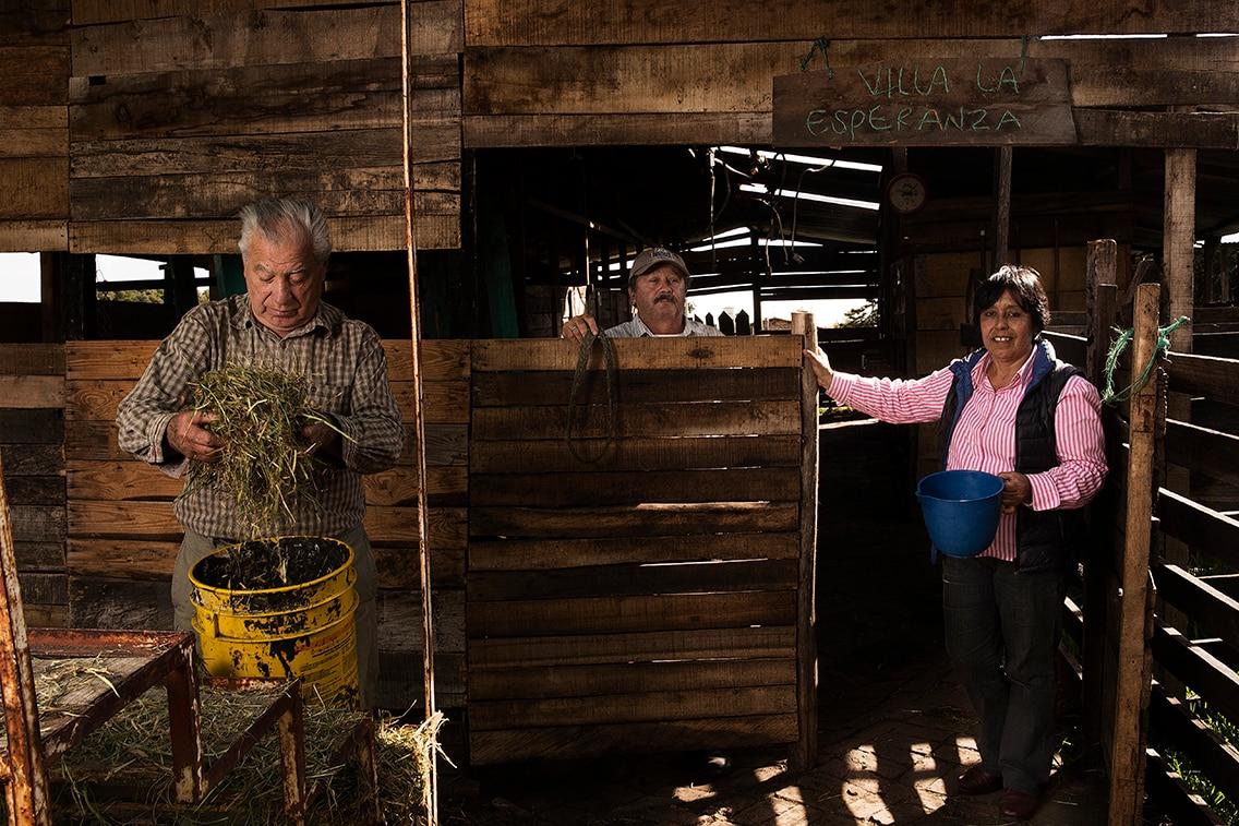 Astrid Orjuela, clienta de Fundación Microfinanzas BBVA en Colombia. Fotografía de Manuel Vázquez