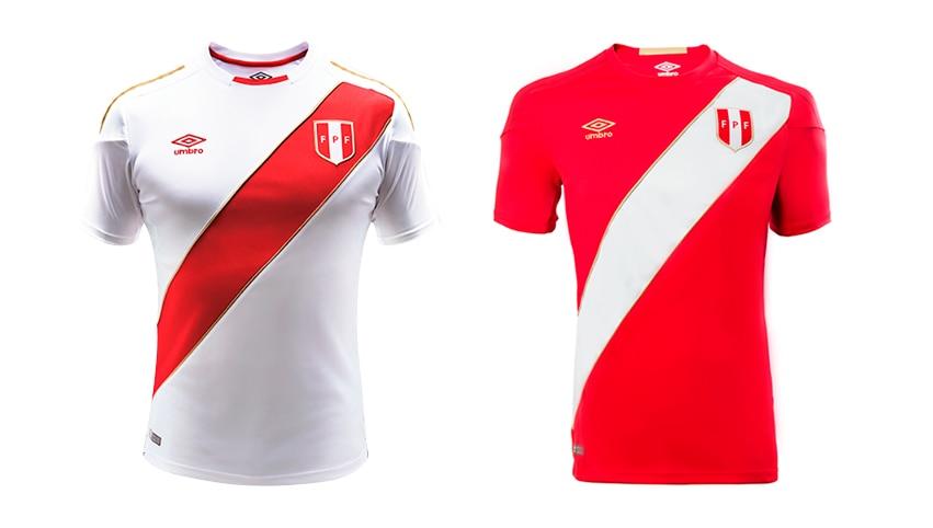 Camisetas Perú Mundial Rusia 2018