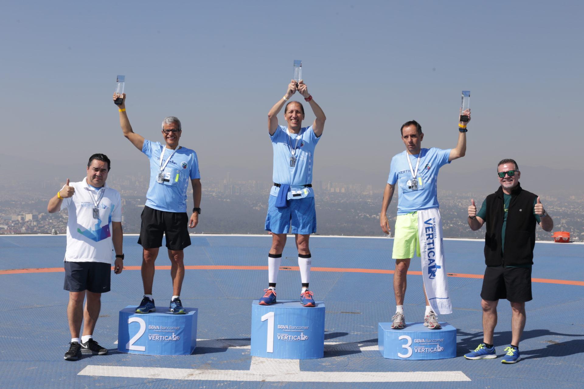 Ganadores Carrera vertical