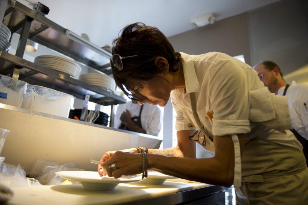 EFE Dominique Crenn Atelier Crenn the world's 50 best restaurants BBVA