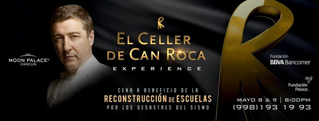 El Celler de Can Roca Experience, en colaboración con BBVA Bancomer, recaudará fondos para la reconstrucción de escuelas en México