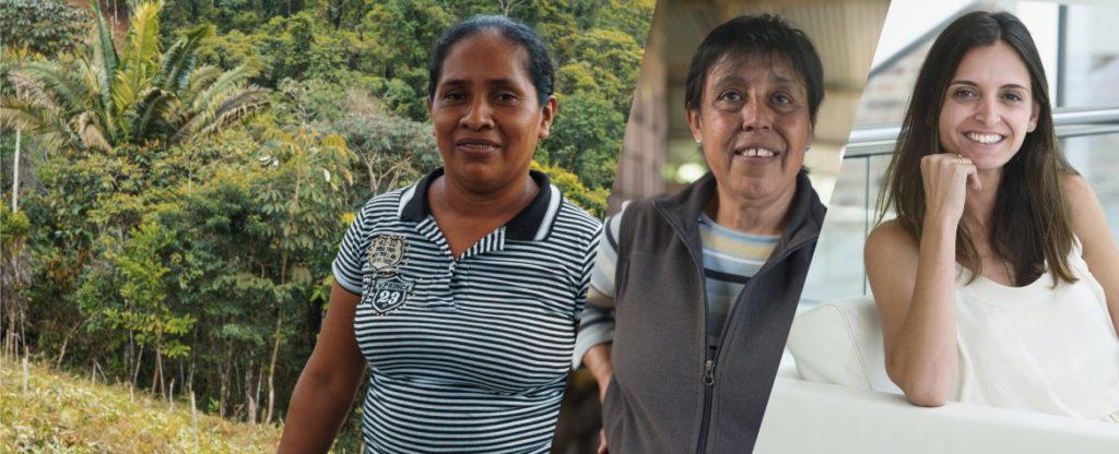 Adelaida, Astrid y Arancha, tres mujeres emprendedoras que cuentan con el apoyo de BBVA
