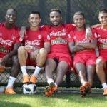 Jugadores de la selección peruana de fútbol en Miami