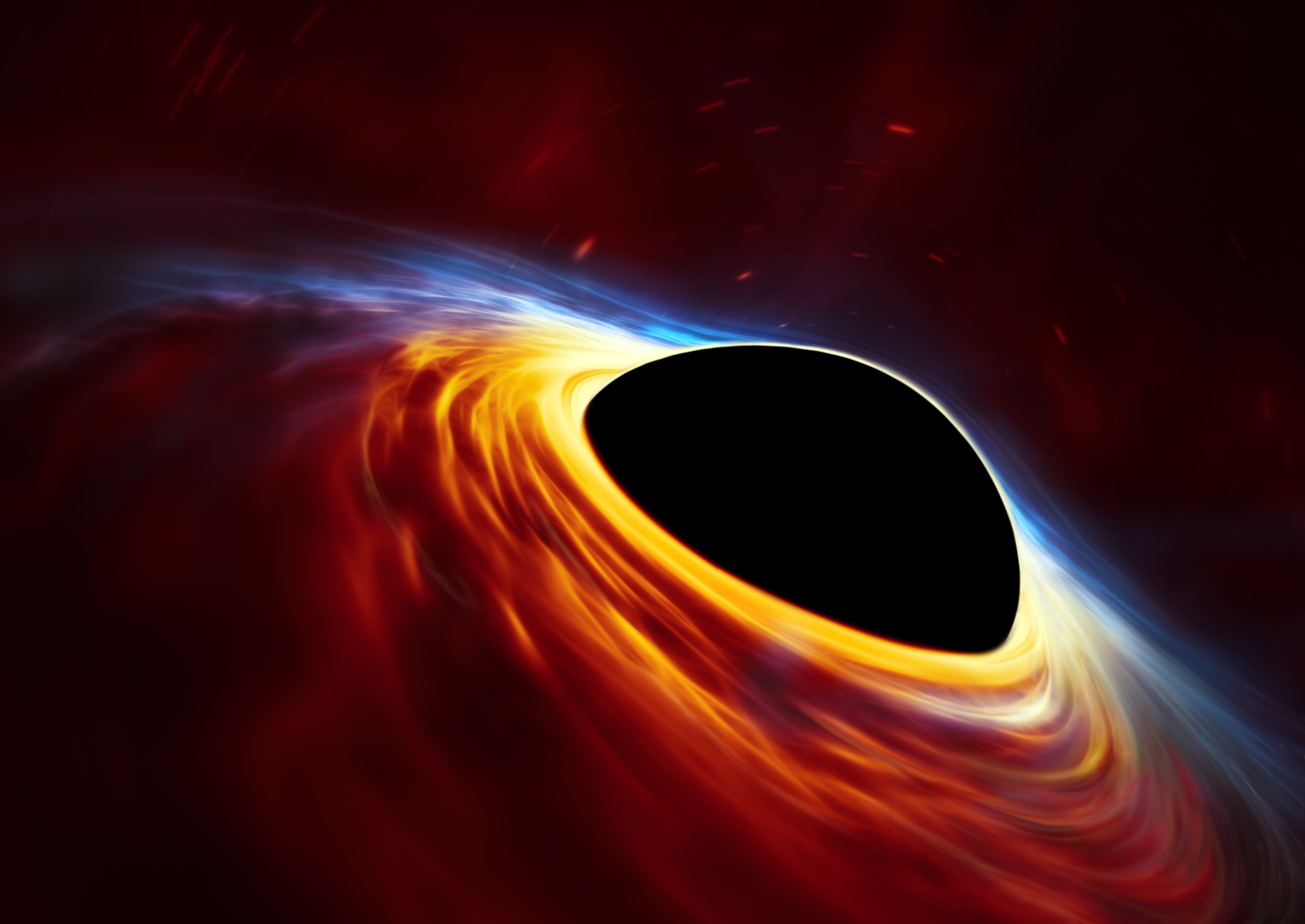 black hole picture - HD 2048×1450