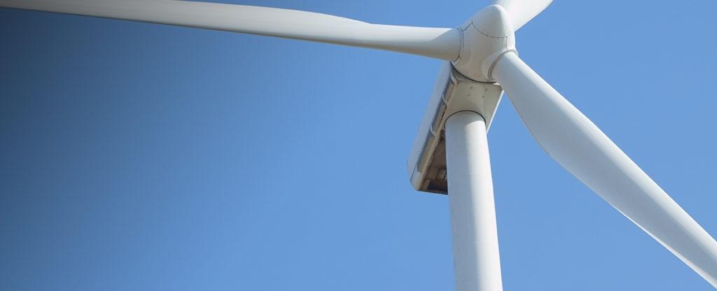 Fotografía de Aerogeneradores, campo eólico, energías renovables, medio ambiente, cielo, desarrollo sostenible, energías limpias