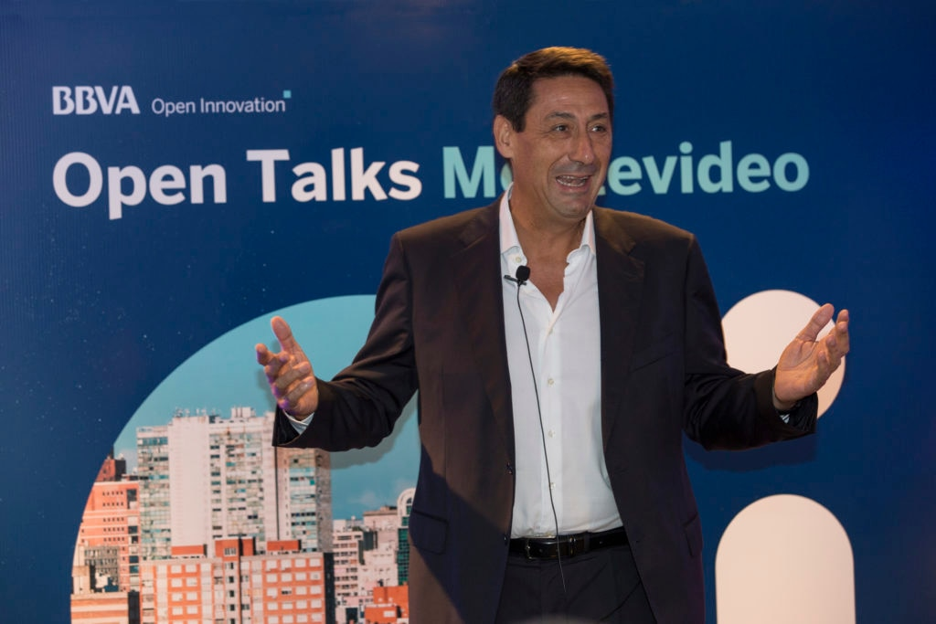 Antonio Alonso CM BBVA Uruguay, en lanzamiento de Open Talent