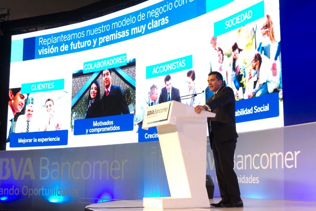 Eduardo Osuna Osuna, vicepresidente y director general de BBVA Bancomer en la Reunión Nacional de Consejeros 2017