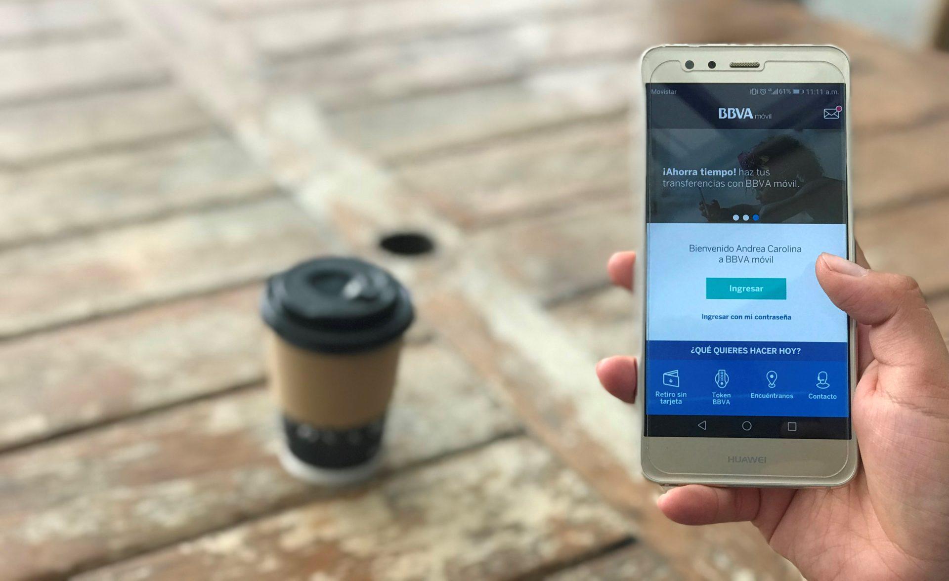 Banca móvil Colombia