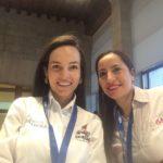 Emprendedoras-colombianas-que-hicieron-parte-de-las-actividade-de-cierre-de-BBVA-Momentum-en-días-pasados en Madrid, España.