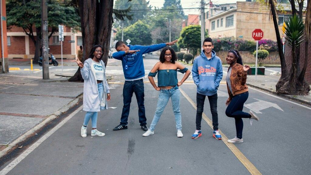 Estudiantes del Pacífico colombiano