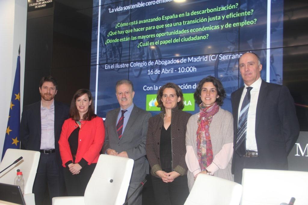 Fotografía de Participantes del debate sobre el credimiento verde de Sociedad Civil por el Debate BBVA