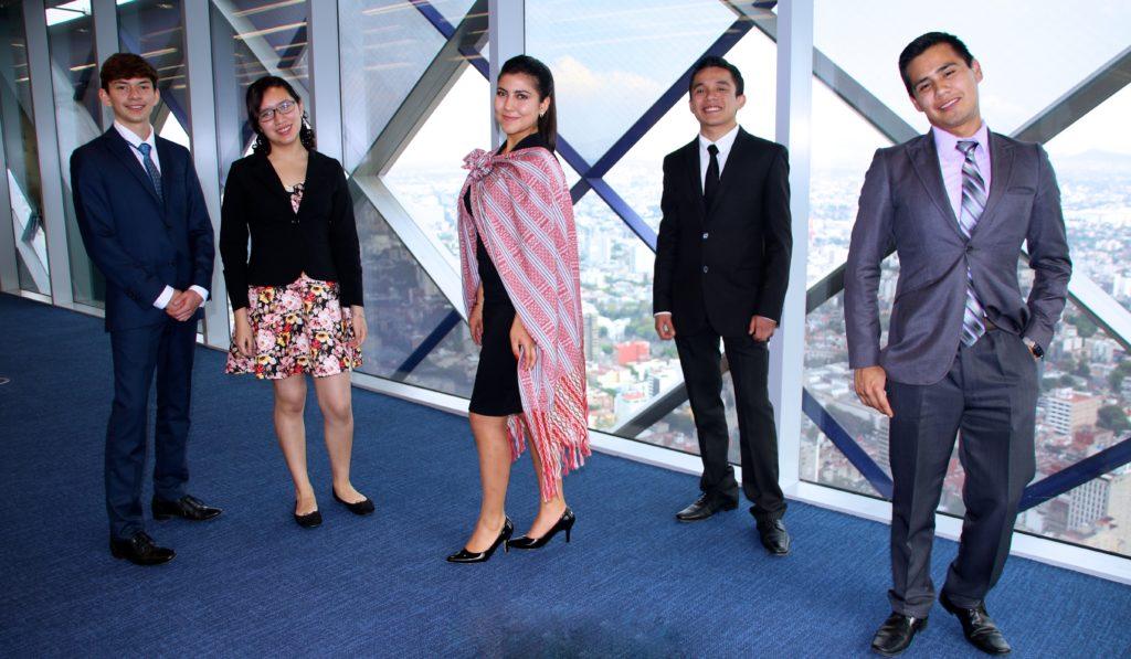 Becarios de la Fundacion Bancomer e ITAM