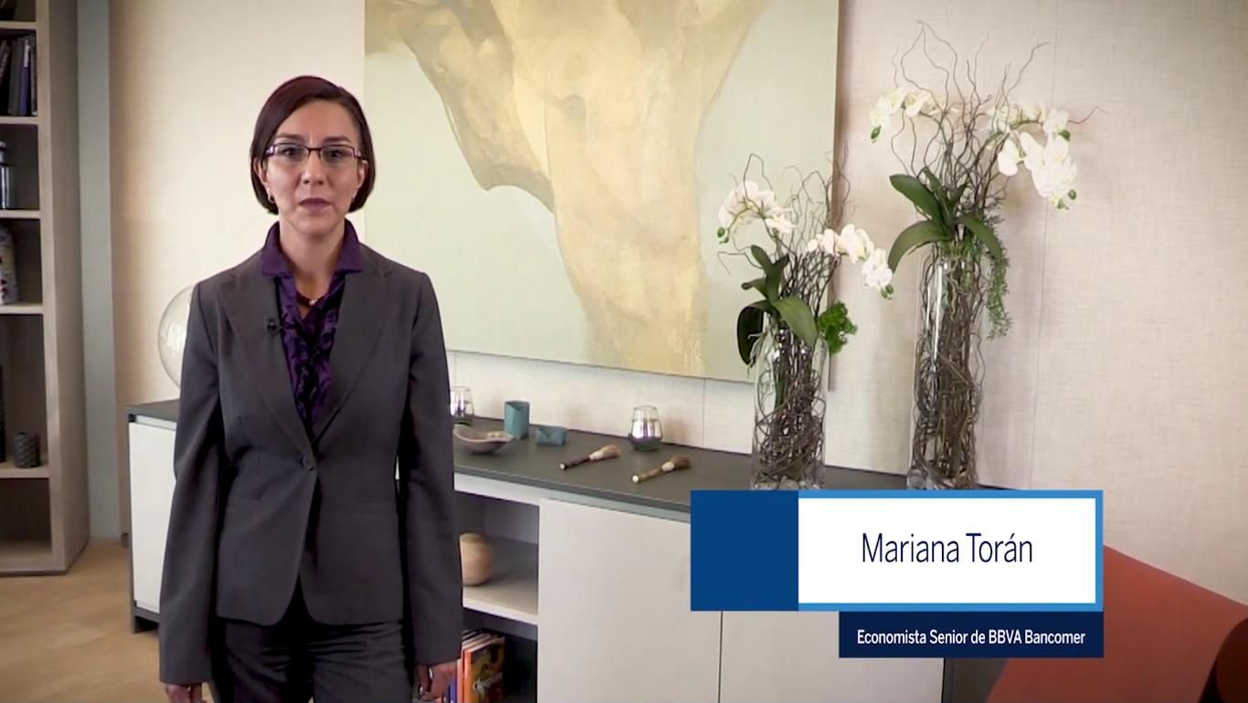 Mariana Torán, economista principal de BBVA Bancomer