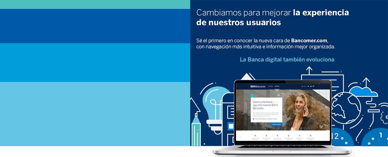 Nueva imagen de BBVA Bancomer.com