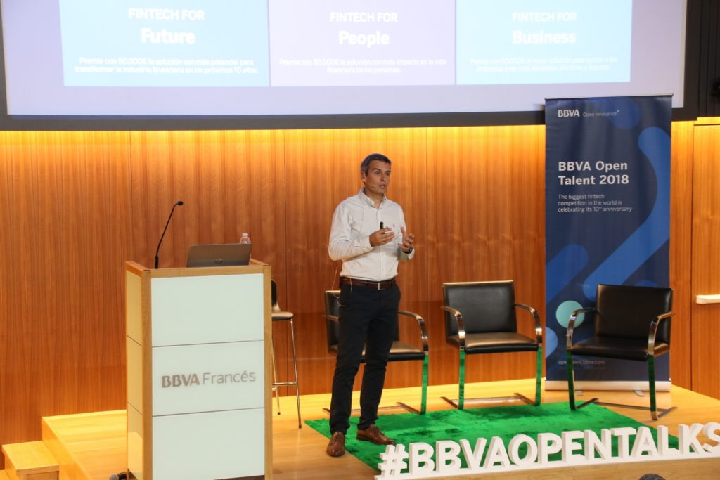 Imagen BBVA Open_Talks Buenos Aires 2018 Leandro Álvarez