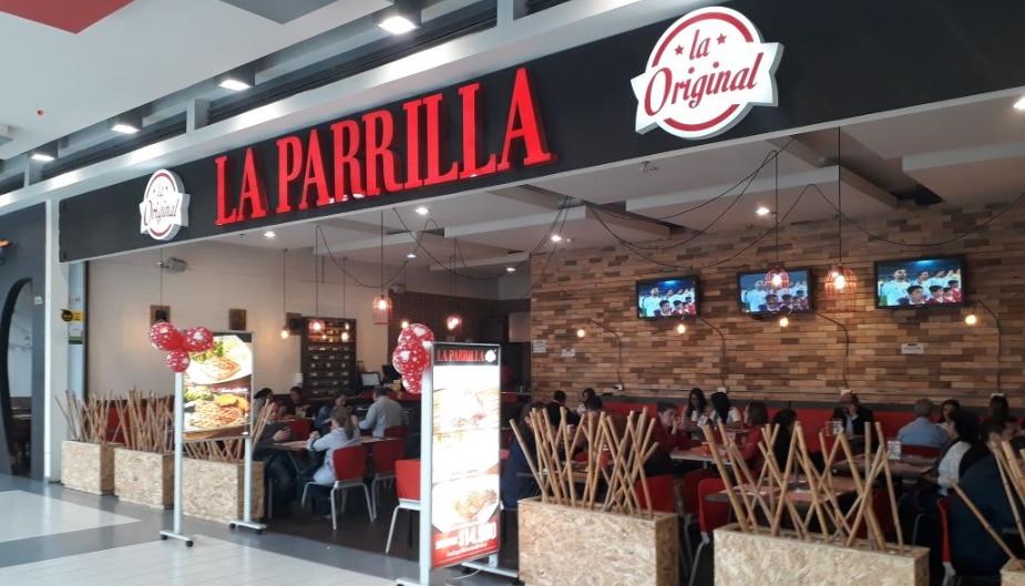 Restaurante La Parrilla La Original en Colombia