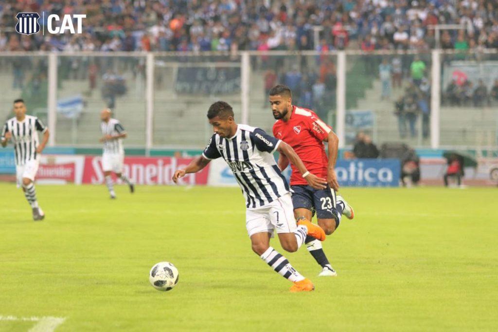 Talleres perdió 2 a 0 con Independiente