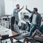 equipo startup emprendimiento empresa compañeros trabajo recurso bbva
