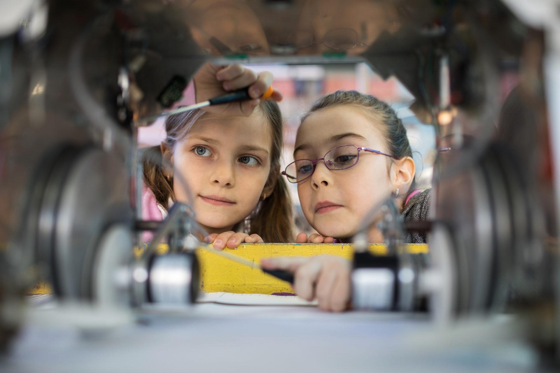niñas tecnologia robots innovacion recurso bbva