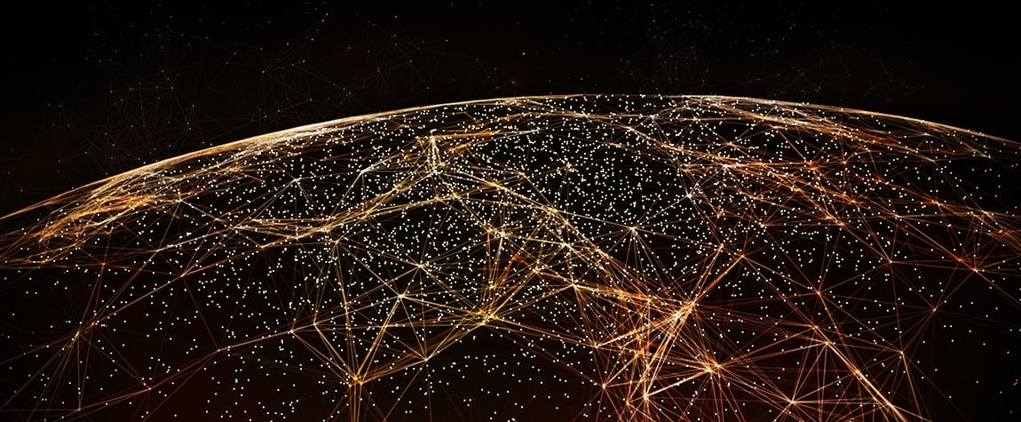 Imagen de Revolución digital, mundo, planeta, conexión, digitalización, globalización, conectados