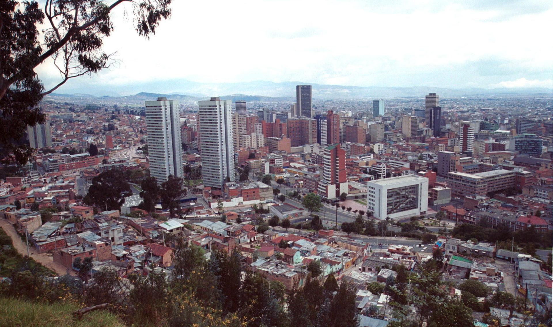 EFE Bogotá Colombia edificios panorámica recurso BBVA