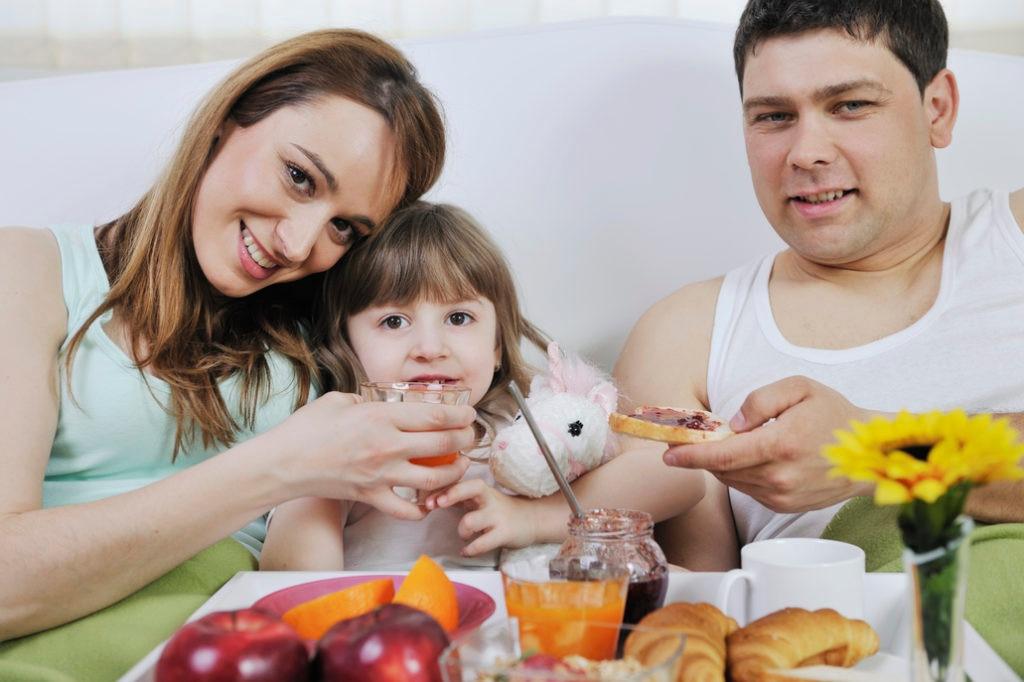 Desayuno en familia como plan del Día de la Madre