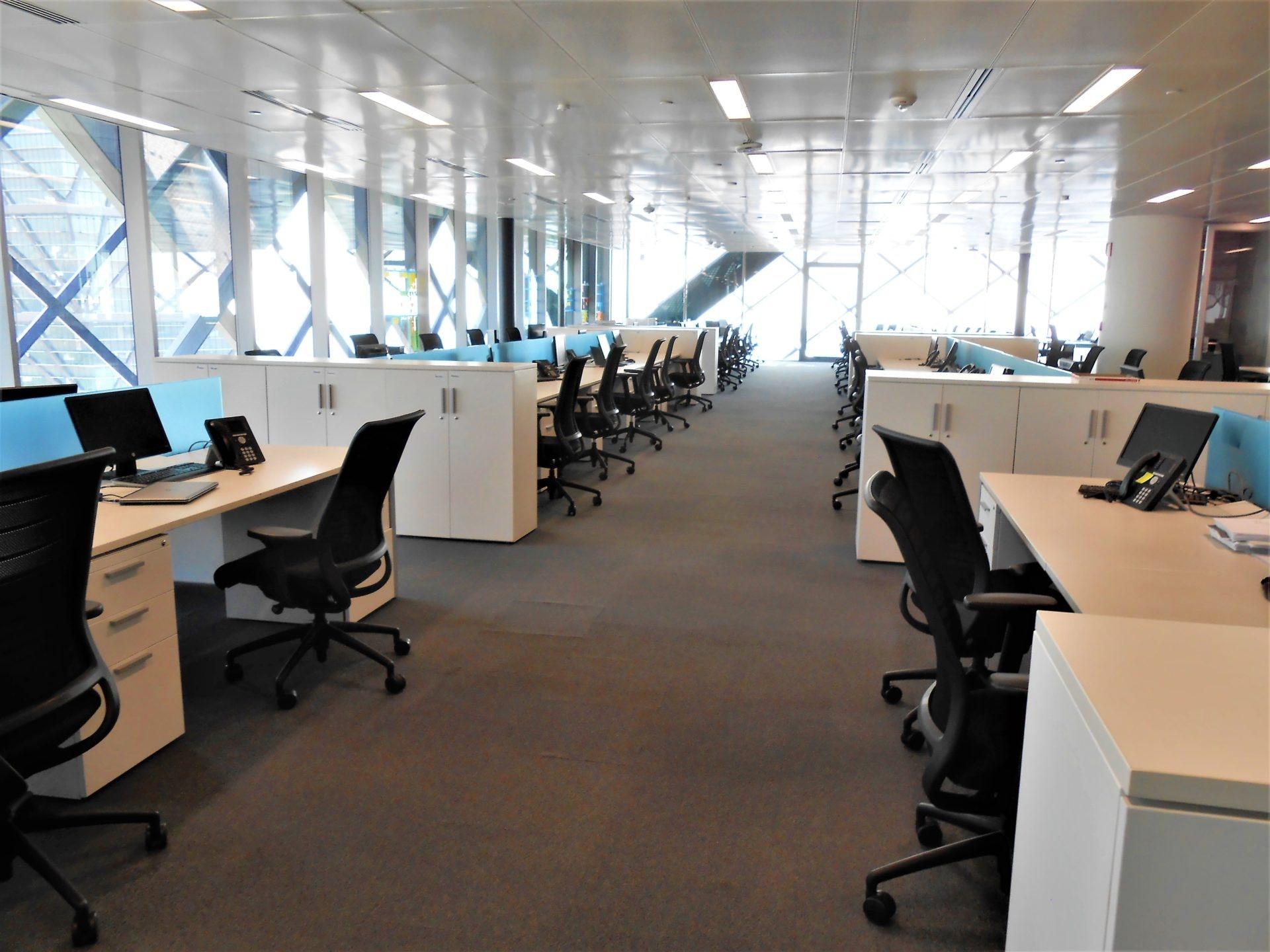 Open House Torre Bancomer, Lugares de trabajo.