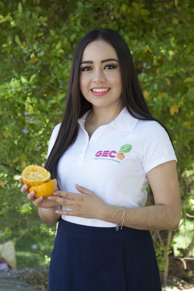 Giselle Mendoza exbecaria de la Fundacion BBVA Bancomer