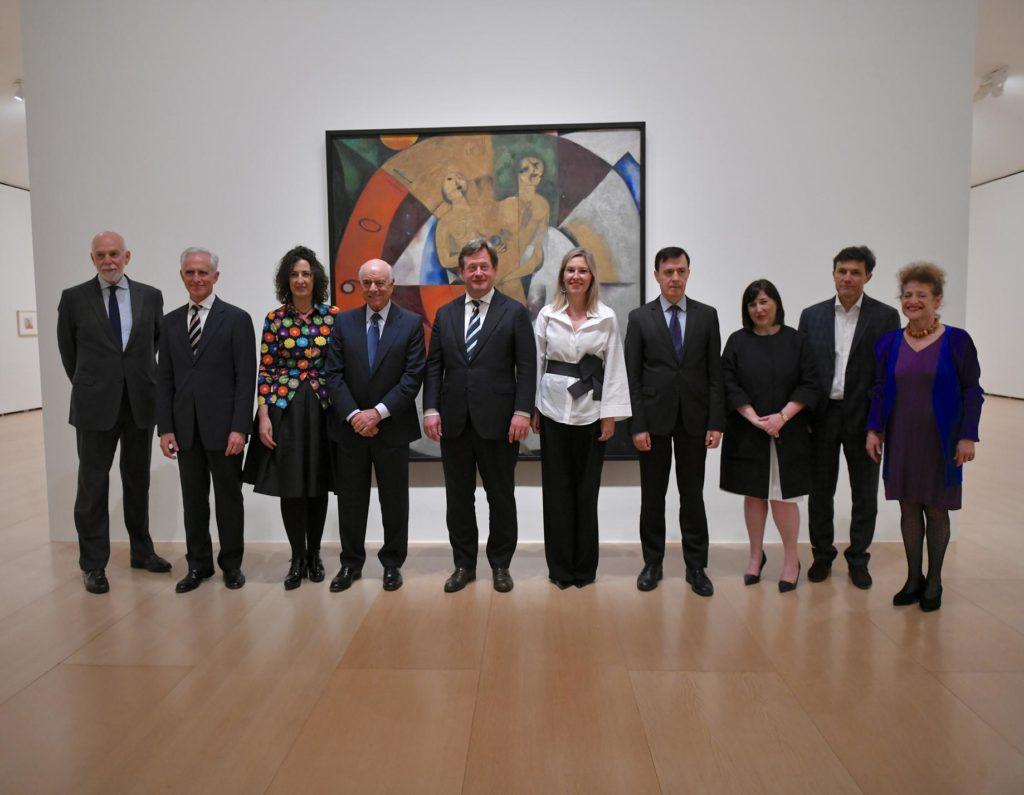 Imagen de Inauguraciónde la exposición sobre Chagall en el Museo Guggenheim patrocinada Fundación BBVA