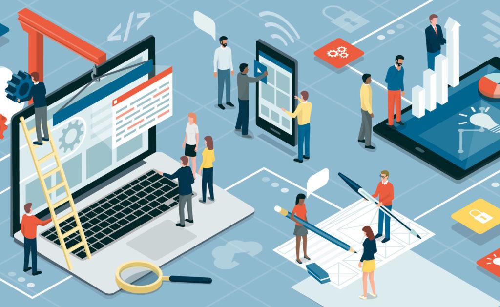 Fotografía de Ordenador, tecnología, inteligencia artificial, personas, tablets, conexión,