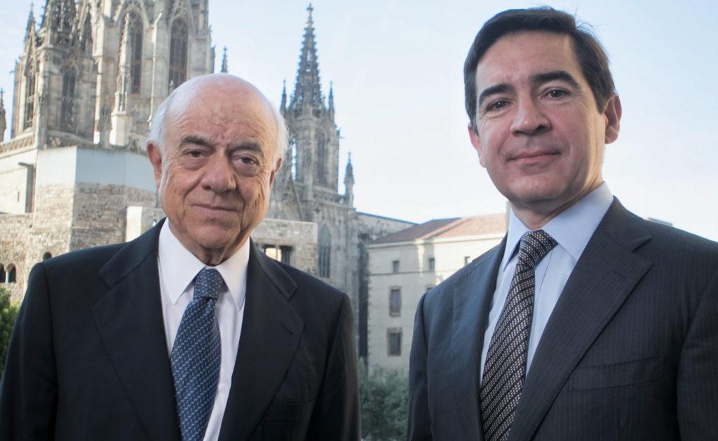 Carlos Torres y Francisco González BBVA