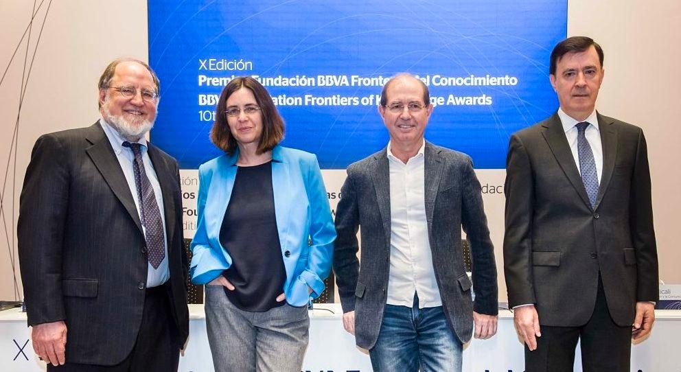 Fronteras del Conocimiento-rueda de prensa-Shafi Goldwasser-Silvio Micali-Ronald Rivest-BBVA
