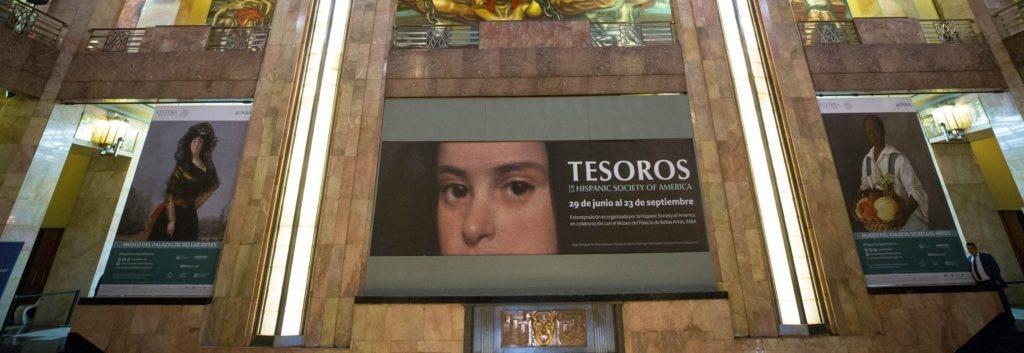 Tesoros de la Hispanic Society of America en el Museo del Palacio de Bellas Artes en la Ciudad de México