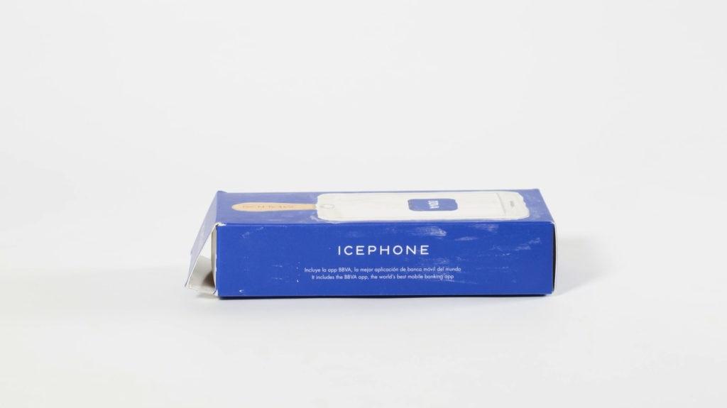 Icephone el polo homenaje a la mejor app de banca del mundo