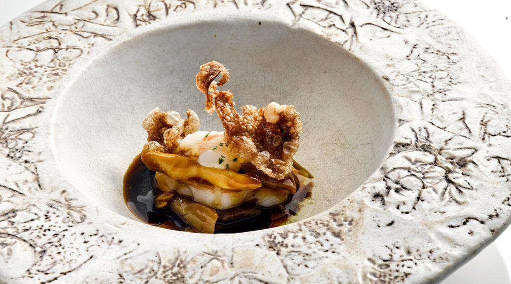 Langosta con crestas de gallo - Gira BBVA El Celler de Can Roca en Barcelona