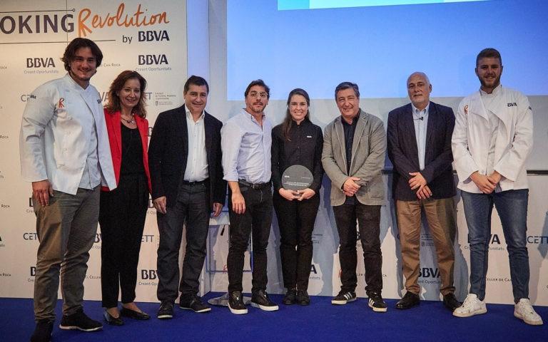 Los ganadores catalanes de la Beca BBVA de Gastronomía