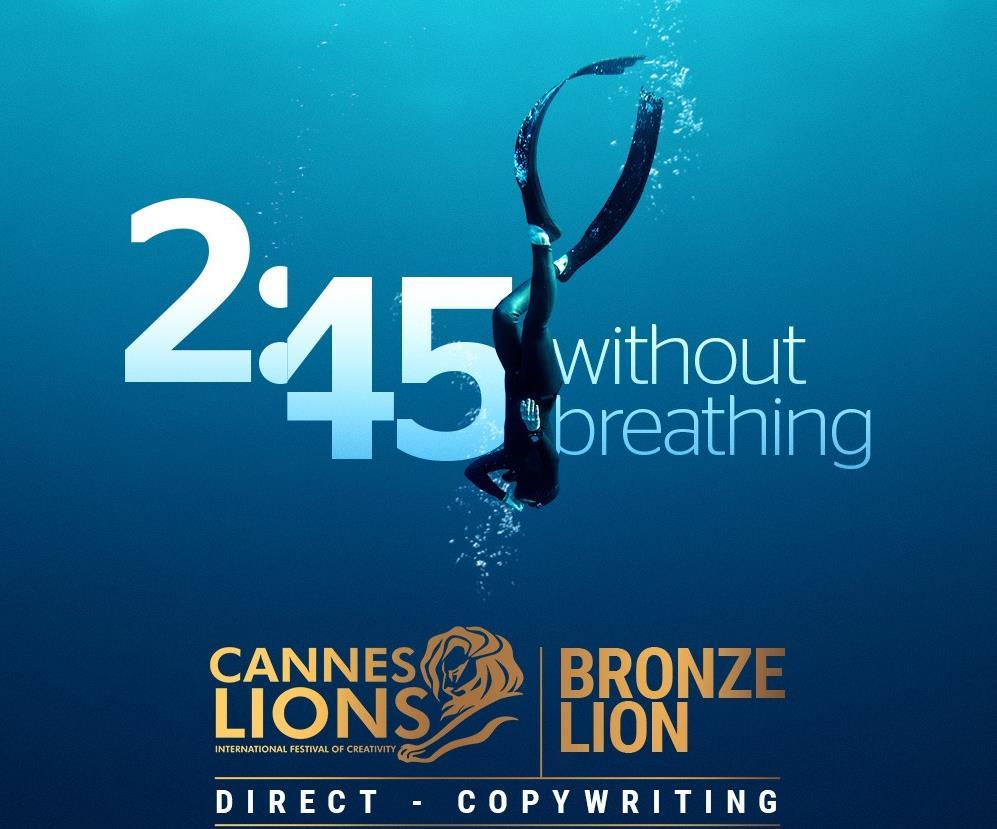 Premio Cannes BBVA Colombia-DDB por la campaña 2'45