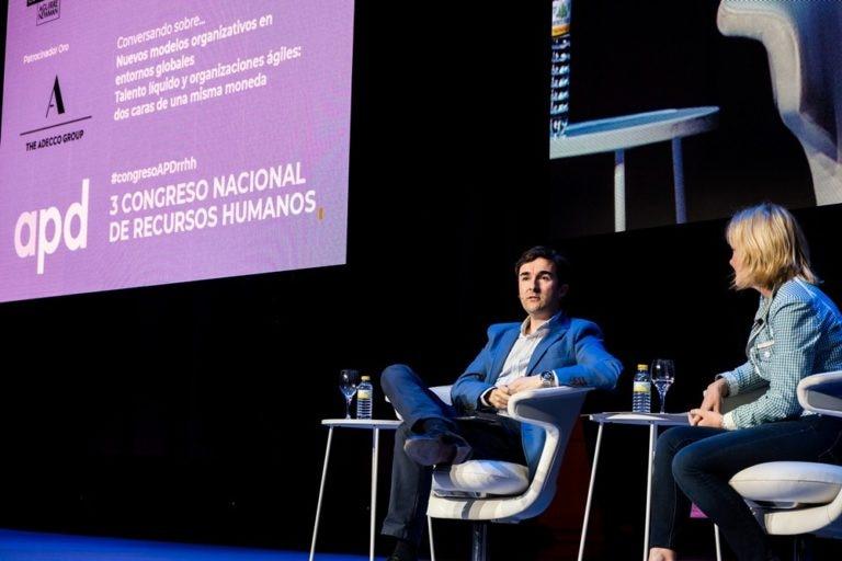 Imagen de Ricardo Forcano (BBVA) en el Congreso Nacional de RR HH 2018
