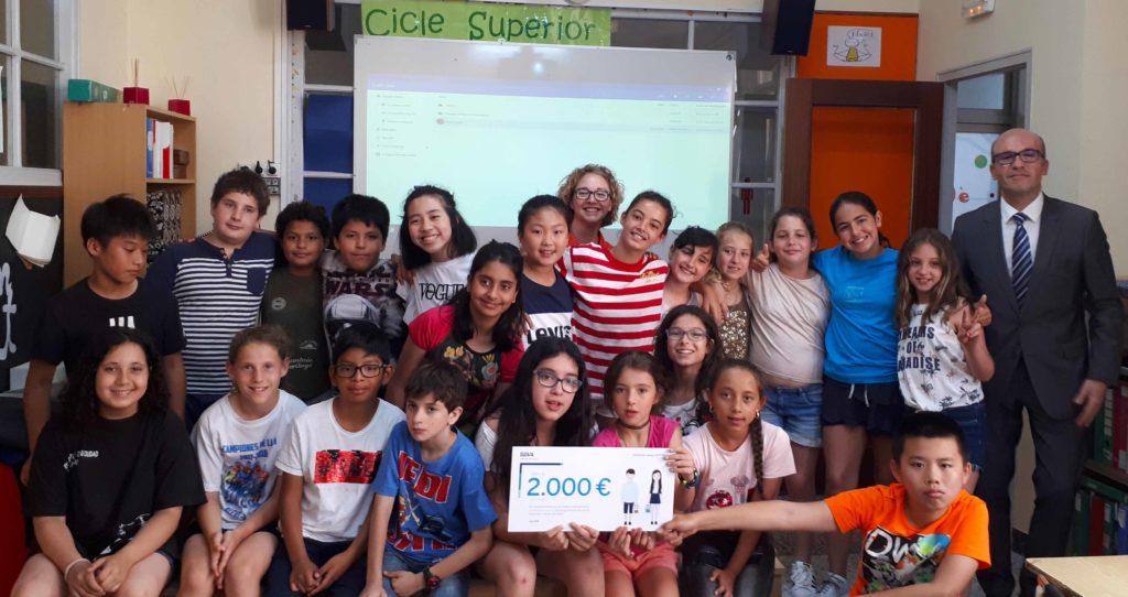 BBVA entrega los premios de 'Valores de Futuro' a los colegios ganadores de Primaria