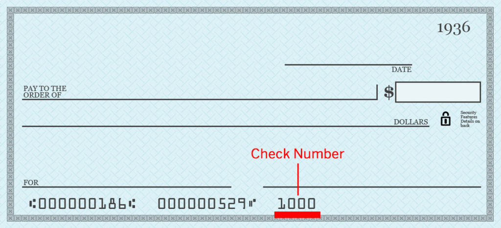 What are all those numbers on the bottom of your checks and