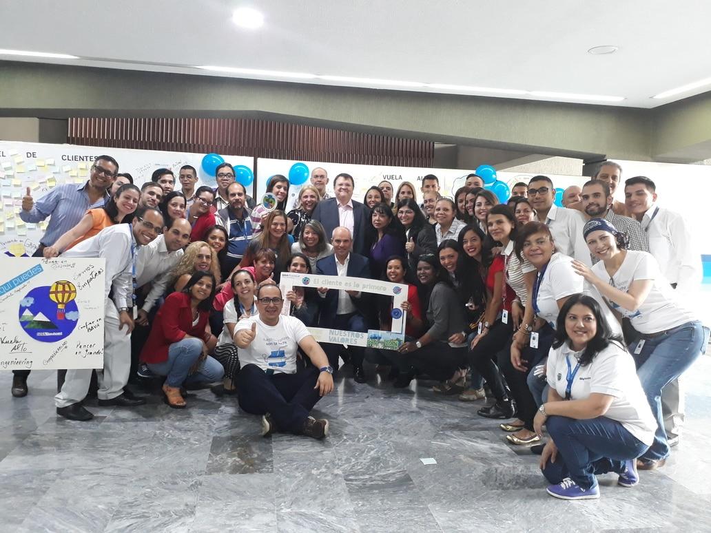 Uno de los grupos participantes del Values Day Venezuela