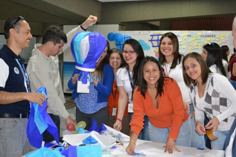 Pensamos en grande, equipo BBVA Provincial Values Daly Venezuela