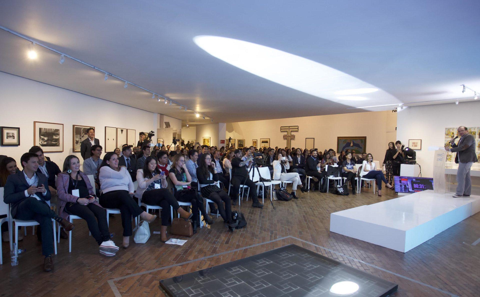Evento Open Talks Colombia