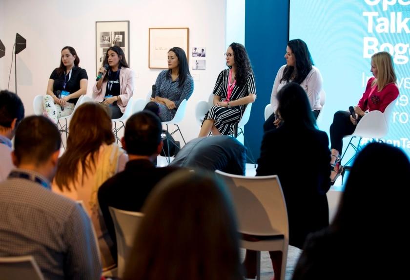 Foro de emprendimiento femenino en el Open Talks