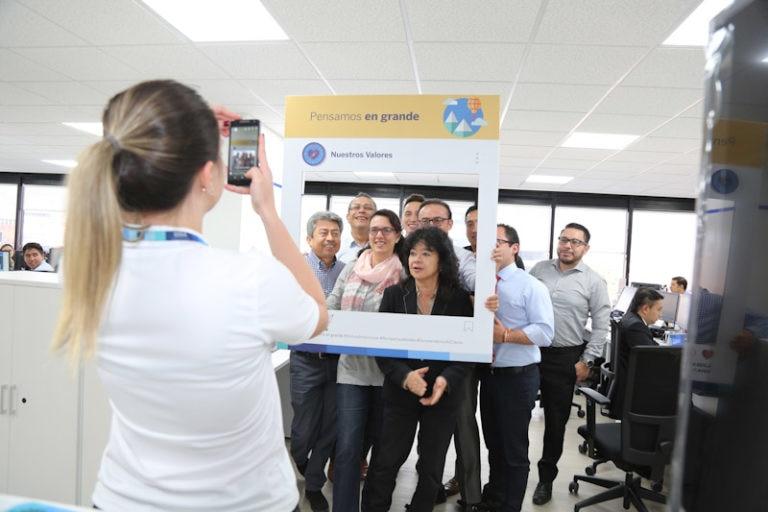Funcionarios de BBVA Colombia participaron en el Values Day